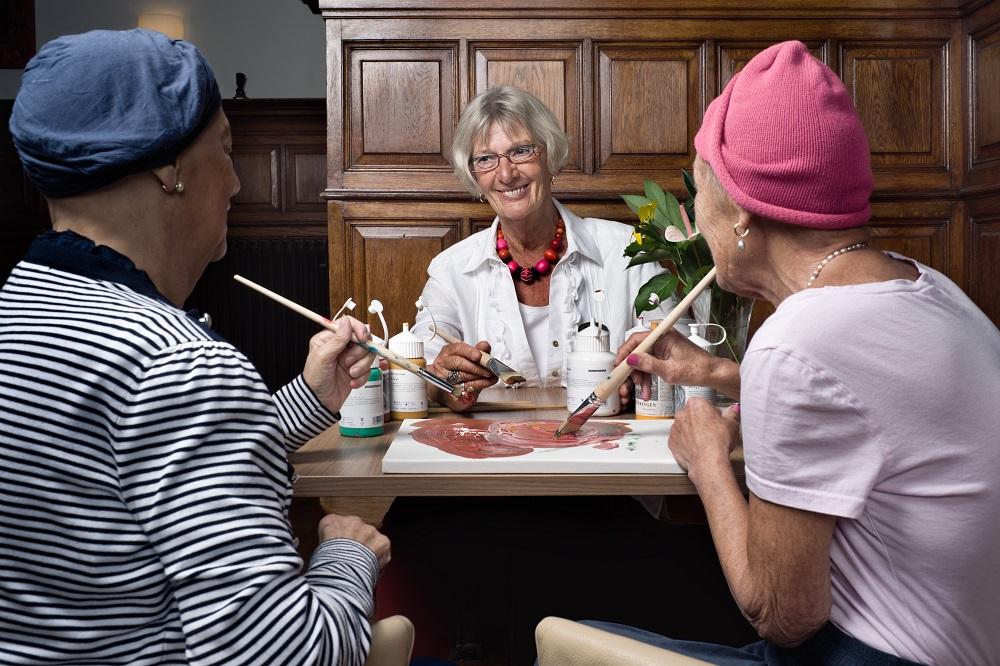 Creativiteit in Hospice