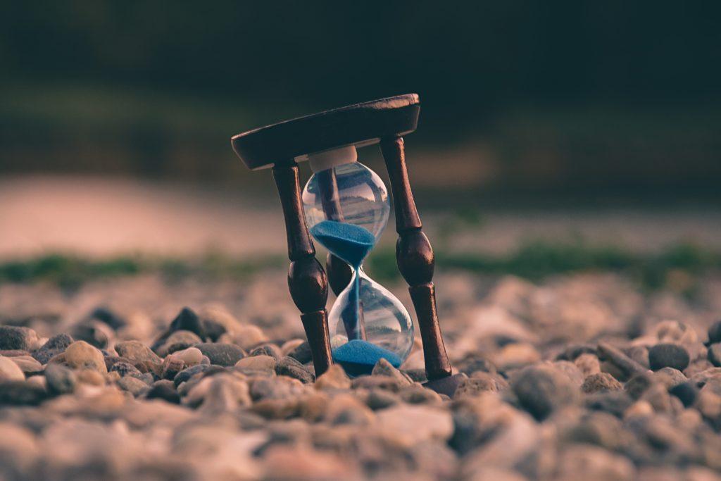 Neem de tijd voor je tekst. Dat is altijd de moeite waard.
